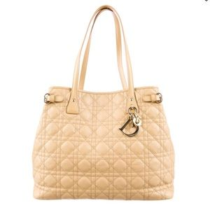 Authentic Christian Dior Panaera tote quilted
